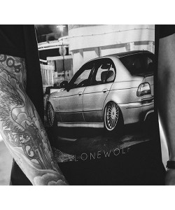 "Tee-shirt Lonewolf ""E39"""
