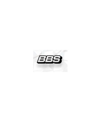 Stickers pour voiles BBS Noir mat